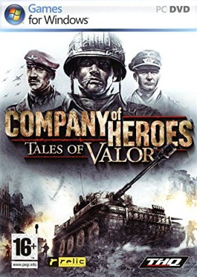 Company of Heroes: Tales of Valor PC Cover