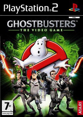 Ghostbusters: The Video Game PS2 Cover
