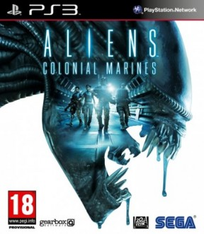 Aliens Colonial Marines PS3 Cover