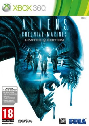 Aliens Colonial Marines Xbox 360 Cover