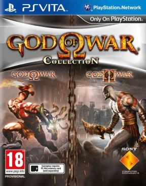 God of War Collection PS Vita Cover