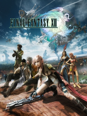 Final Fantasy XIII PC Cover