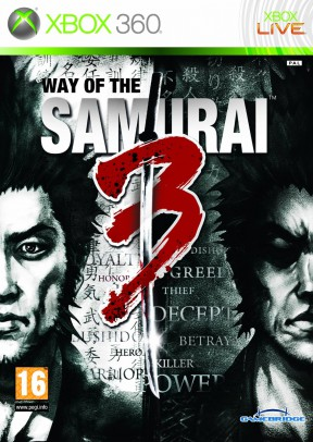 Way Of The Samurai 3 Xbox 360 Cover