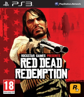 Red Dead Redemption PS3 Cover