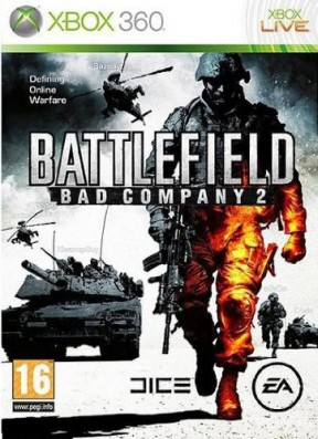 Battlefield: Bad Company 2 Xbox 360 Cover