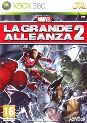 Marvel: La grande Alleanza 2 Xbox 360 Cover
