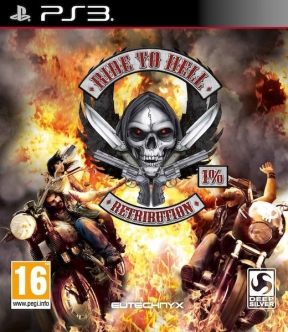 Ride to Hell: Retribution PS3 Cover