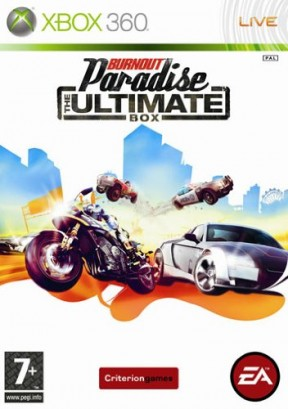 Burnout Paradise: The Ultimate Box Xbox 360 Cover
