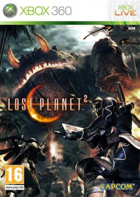 Lost Planet 2 Xbox 360 Cover