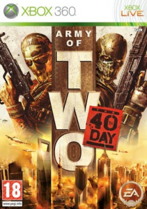 Army of Two: The 40th Day Xbox 360 Cover