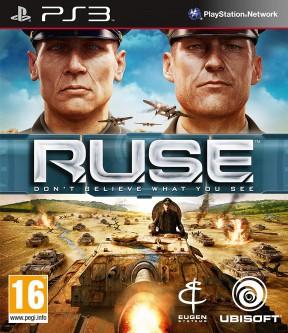 R.U.S.E. PS3 Cover