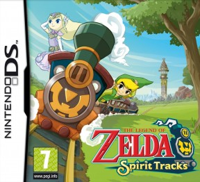 The Legend of Zelda: Spirit Tracks Nintendo DS Cover