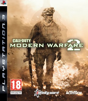 Call Of Duty: Modern Warfare 2 PS3 Cover
