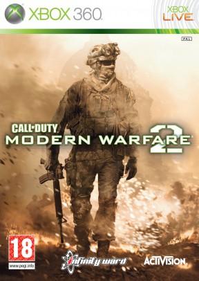 Call Of Duty: Modern Warfare 2 Xbox 360 Cover