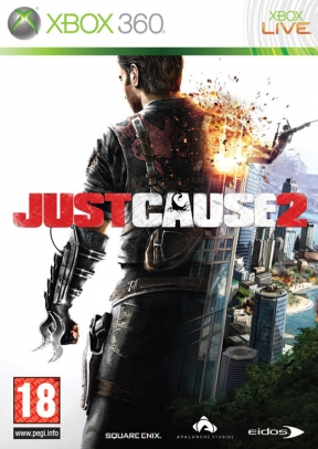 Just Cause 2 Xbox 360 Cover