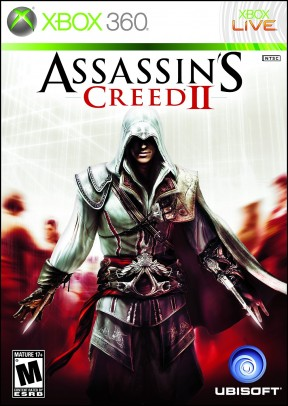 Assassin's Creed II Xbox 360 Cover