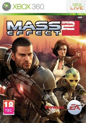 Mass Effect 2 Xbox 360 Cover