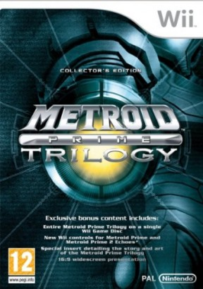 Metroid Prime Trilogy Wii Cover