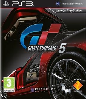 Gran Turismo 5 PS3 Cover