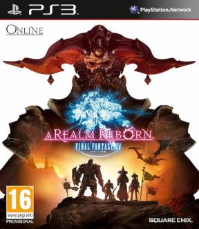 Final Fantasy XIV: A Realm Reborn PS3 Cover