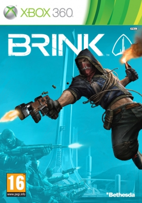 Brink Xbox 360 Cover