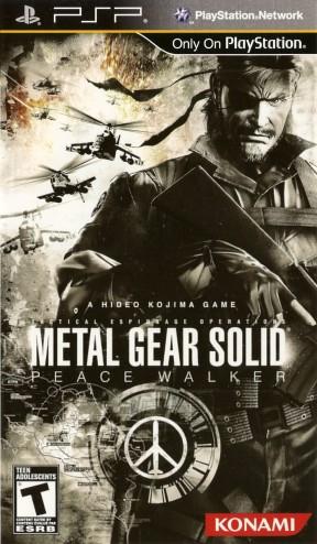 Metal Gear Solid: Peace Walker PSP Cover
