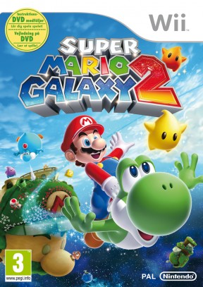 Super Mario Galaxy 2 Wii Cover