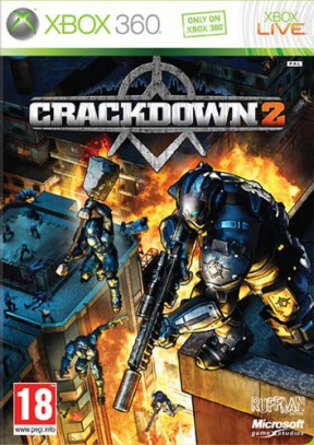 Crackdown 2 Xbox 360 Cover