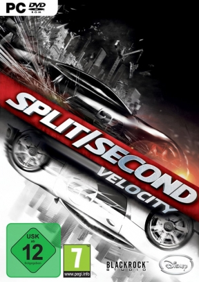 Split/Second: Velocity PC Cover