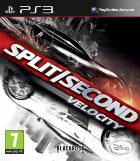 Split/Second: Velocity PS3 Cover
