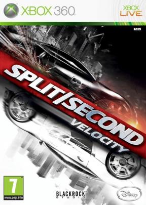 Split/Second: Velocity Xbox 360 Cover