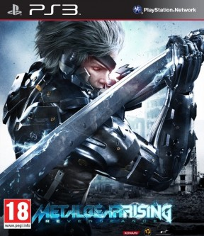 Metal Gear Rising: Revengeance PS3 Cover