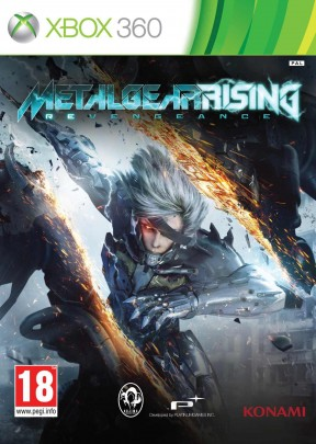 Metal Gear Rising: Revengeance Xbox 360 Cover