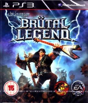 Brütal Legend PS3 Cover