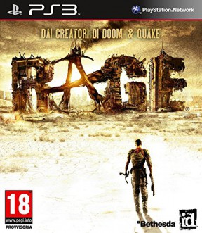 RAGE PS3 Cover