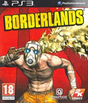 Borderlands PS3 Cover