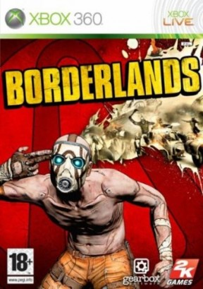 Borderlands Xbox 360 Cover