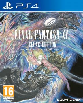 Final Fantasy XV PS4 Cover