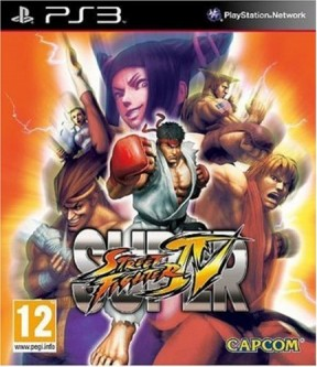 Super Street Fighter IV PS3 Cover