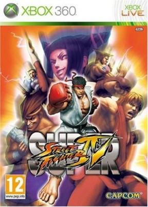 Super Street Fighter IV Xbox 360 Cover