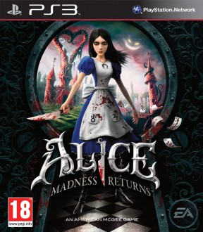 Alice: Madness Returns PS3 Cover