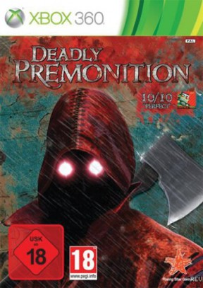 Deadly Premonition Xbox 360 Cover