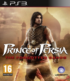 Prince of Persia: Le Sabbie Dimenticate PS3 Cover