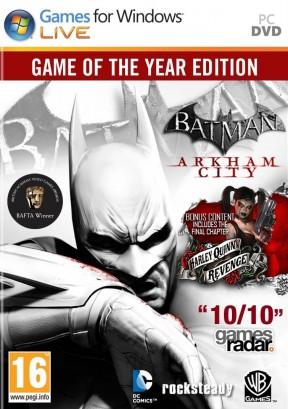 Batman: Arkham City PC Cover