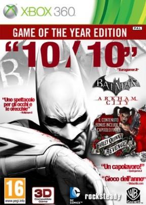 Batman: Arkham City Xbox 360 Cover
