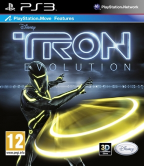 Tron Evolution PS3 Cover