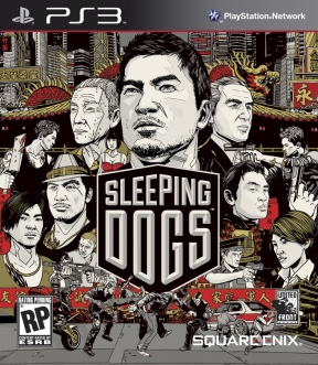 Sleeping Dogs PS3 Cover