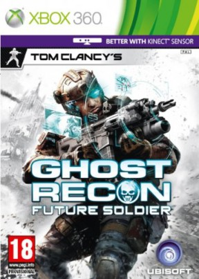Ghost Recon: Future Soldier Xbox 360 Cover