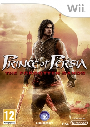 Prince of Persia: Le Sabbie Dimenticate Wii Cover