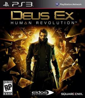 Deus Ex: Human Revolution PS3 Cover
